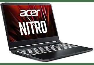 ACER Nitro 5 (AN515-45-R8BM) mit RGB Tastaturbeleuchtung, Gaming Notebook mit 15,6 Zoll Display, 16 GB RAM, 1 TB SSD, NVIDIA GeForce RTX 3070, Schwarz