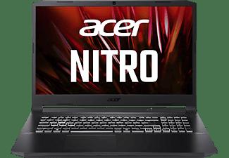 ACER Nitro 5 (AN517-41-R5Z7) mit RGB Tastaturbeleuchtung, Gaming Notebook mit 17,3 Zoll Display, 16 GB RAM, 1 TB SSD, NVIDIA GeForce RTX 3070, Schwarz