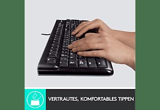 LOGITECH MK120, Tastatur & Maus Set, Schwarz