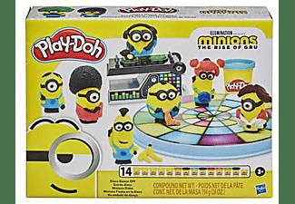 PLAY-DOH Play-Doh Minions Disko Knete, Mehrfarbig