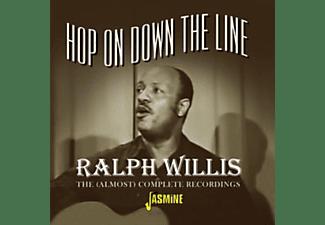 Ralph Willis - HOP ON DOWN THE LINE  - (CD)