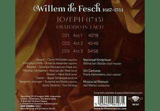 VARIOUS - DE FESCH: JOSEPH  - (CD)
