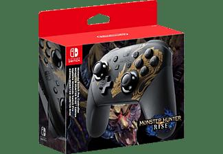 NINTENDO Pro Controller Monster Hunter Rise Edition Pro Controller Grau