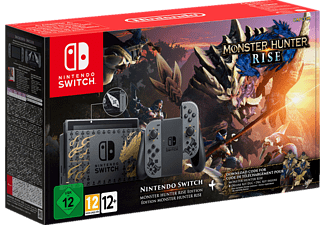 NINTENDO Switch Monster Hunter Rise Edition (Deluxe Kit-DLC +  Bonusinhalte)