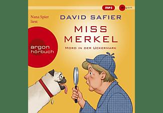 Nana Spier - Miss Merkel: Mord in der Uckermark  - (MP3-CD)