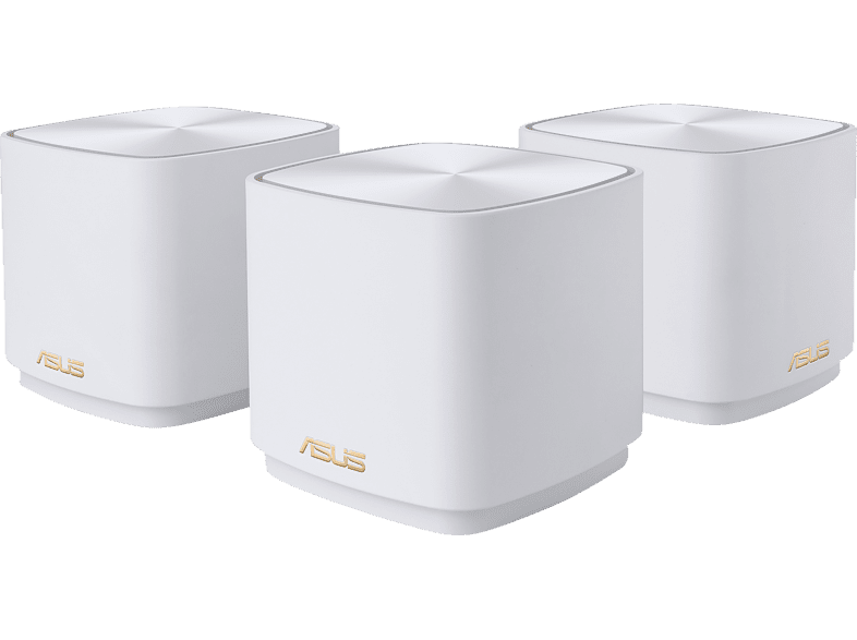ASUS ZenWiFi AX Mini XD4 AX1800 3er Set Weiss WiFi-6 Mesh System
