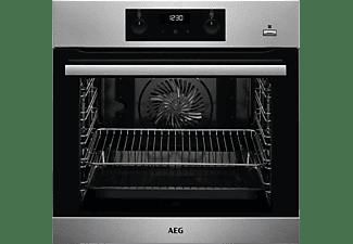 AEG Einbaubackofen mit Steambakefunktion BEB355020M