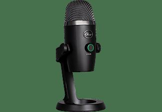 LOGITECH Blue Yeti NANO USB-Mikrofon, PC und Mac, verstellbares Stativ, Plug und Play Mikrofon, Schwarz