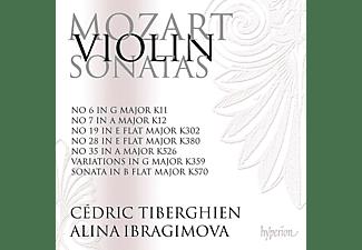 Cedric Tiberghien, Alina Ibragimova - Sonaten für Violine und Klavier Vol.5  - (CD)