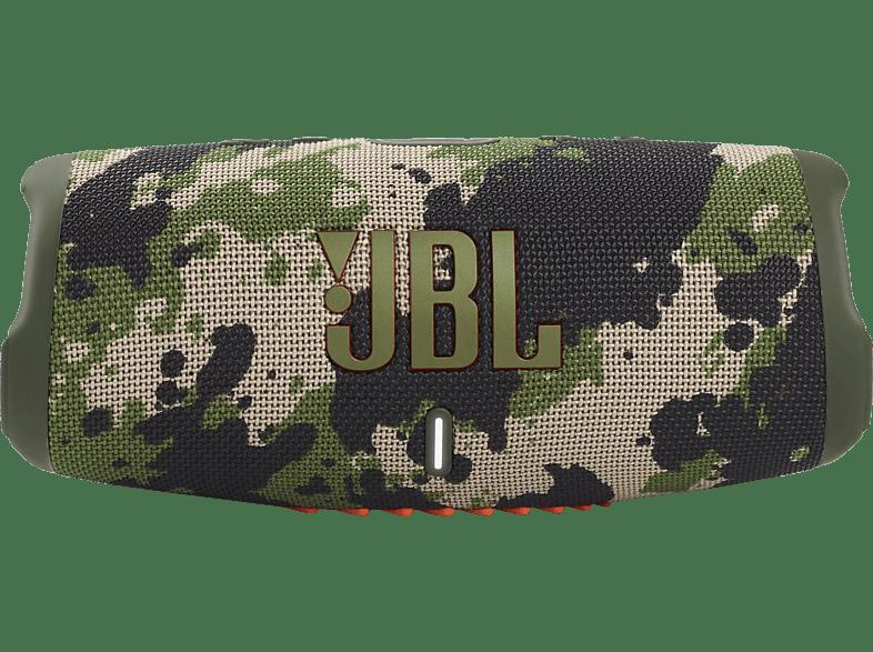 JBL Charge 5 Bluetooth Lautsprecher, Squad, Wasserfest