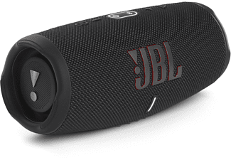 JBL Charge 5 Bluetooth Lautsprecher, Schwarz, Wasserfest