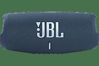 JBL Charge 5 Bluetooth Lautsprecher, Blau, Wasserfest