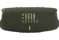 JBL Charge 5 Bluetooth Lautsprecher, Grün, Wasserfest