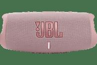JBL Charge 5 Bluetooth Lautsprecher, Rosa, Wasserfest