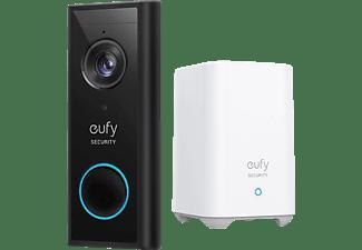 EUFY Video Doorbell 2K (batteriebetrieben) und der HomeBase 2, Set