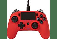 Mando - Nacon Revolution Pro Controller 3, Para PS4/PC, Con cable, Rojo + Funda + 6 pesos + Cable USB-C