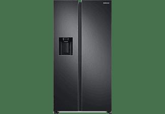 SAMSUNG RS6GA8821B1/EG RS8000 Side-by-Side (E, 1780 mm hoch, Premium Black Steel/Schwarz)