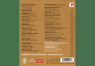 Wiener Philharmoniker & Riccardo Muti - NEW YEAR'S CONCERT 2021  - (Blu-ray)