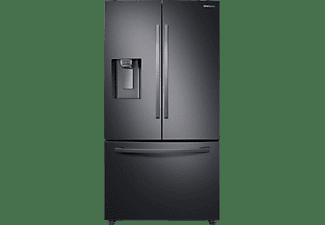 SAMSUNG RF23R62E3B1/EG French Door (F, 1777 mm hoch, Premium Black Steel)