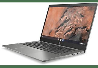 HP Chromebook 14b-na0350ng, Premium Chromebook mit 14 Zoll Display, AMD Ryzen™ 5 Prozessor, 8 GB RAM, 128 GB SSD, AMD Radeon, Silber