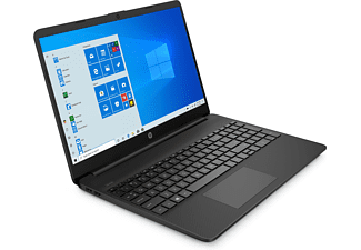 HP 15s-eq1305ng, Notebook mit 15,6 Zoll Display, AMD Ryzen™ 3 Prozessor, 8 GB RAM, 256 GB SSD, AMD Radeon™ Graphics, Schwarz