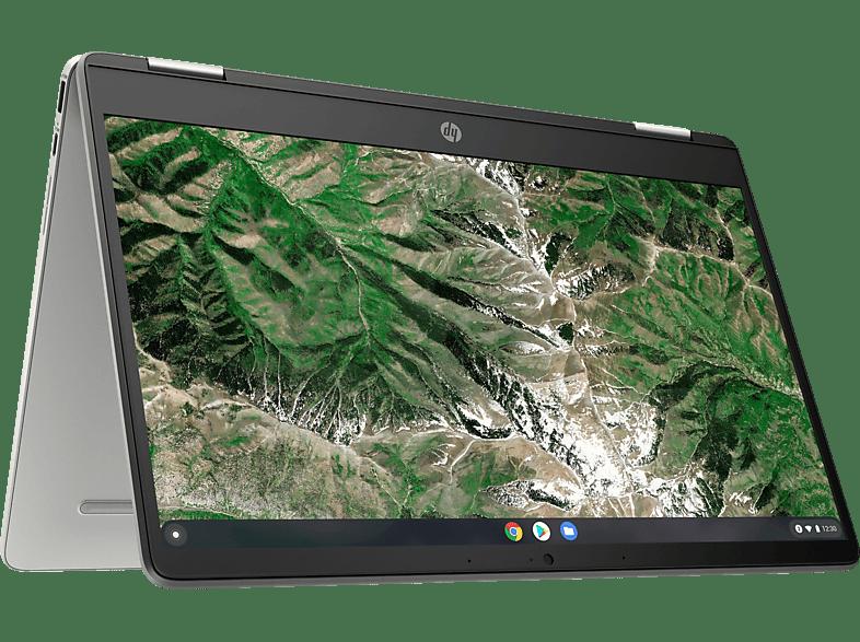 HP Chromebook x360 (14 Zoll Display Touchscreen, 4 GB RAM, Intel UHD Graphics 605)