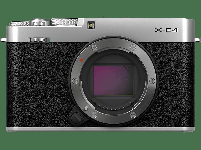 FUJIFILM X-E4 Gehäuse Systemkamera, 7,6 cm Display Touchscreen, WLAN