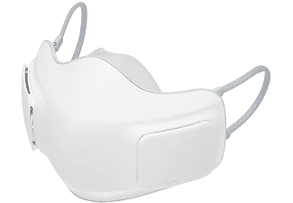 Mascarilla inteligente - LG AP300AWFA, Filtro H13 HEPA, 3 velocidades, Autonomía 8 h, Ergonómico, Blanco
