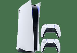 SONY PlayStation®5 mit 2 DualSense™ Wireless-Controller weiß