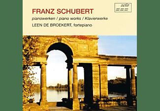 Franz Schubert - PIANOWERKEN  - (CD)
