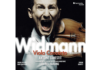 Antoine Tamestit - Viola Concerto  - (CD)