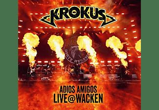 Krokus - Adios Amigos Live @ Wacken  - (CD)