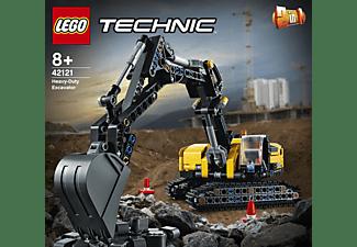 LEGO 42121 Hydraulikbagger Bausatz, Mehrfarbig