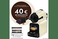 Cafetera de cápsulas - Nespresso® De Longhi INISSIA EN80CW Presión de 19 bares, Potencia 1260W, Crema