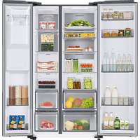 SAMSUNG Side by Side Inox RS68A8841S9/EF