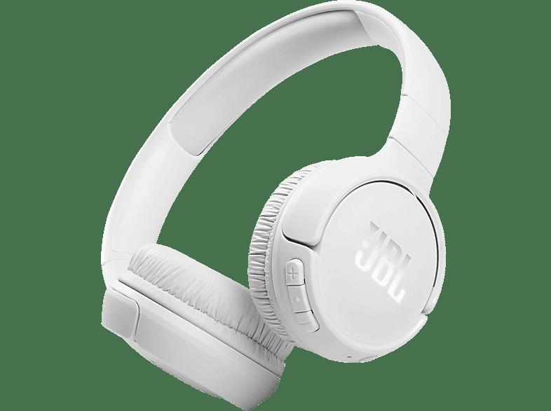 JBL Tune 510 BT, On-ear Kopfhörer Weiß