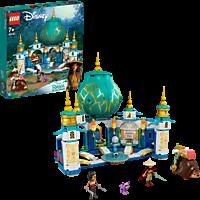 LEGO 43181 Raya und der Herzpalast Bausatz, Mehrfarbig
