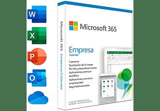 Software - Microsoft Office 365 Empresa Prem Retail Std 1 año (Formato Físico)