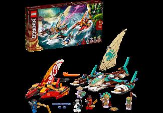 LEGO 71748 Duell der Katamarane Bausatz, Mehrfarbig