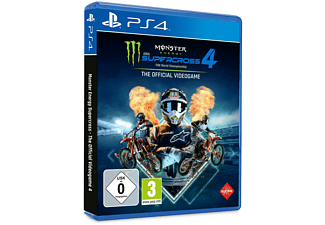 Monster Energy Supercross - The Official Videogame 4 - [PlayStation 4]