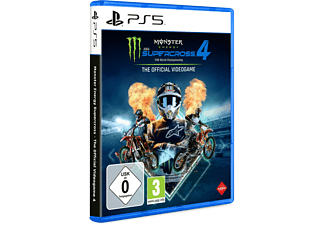 Monster Energy Supercross - The Official Videogame 4 - [PlayStation 5]