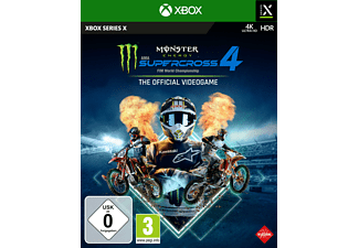 Monster Energy Supercross - The Official Videogame 4 - [Xbox Series X S]