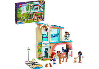 LEGO 41446 Heartlake City Tierklinik Bausatz, Mehrfarbig