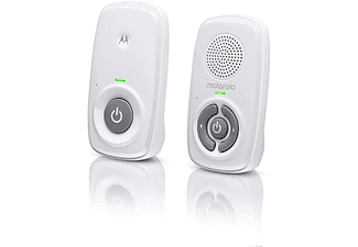 Vigilabebés - Motorola MBP21, WiFi, DECT, Micrófono, Hasta 300m, Recargable, Blanco