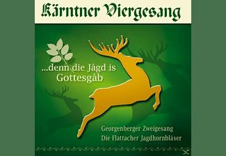Kärntner Viergesang - Denn die Jagd is Gottesgab  - (CD)