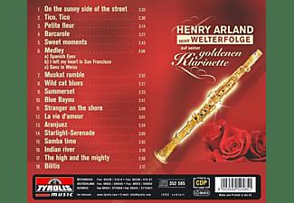 Henry Arland - spielt Welterfolge auf seiner goldenen Klarinette  - (CD)