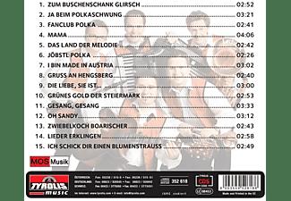 Oberkrainer Power - Ja Beim Polkaschwung  - (CD)