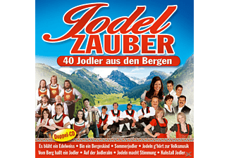 VARIOUS - Jodelzauber - 40 Jodler Aus Den Bergen  - (CD)