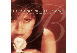 Scott Hamilton, Donna With Scott Hamilton & Bucky Pizzarell Byrne - Licensed To Thrill  - (CD)