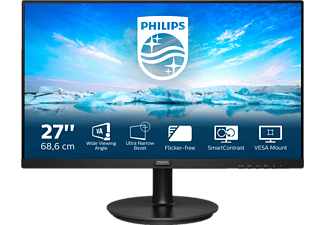 PHILIPS 271V8LA 27 Zoll Full-HD Monitor (4 ms Reaktionszeit, 75 Hz)